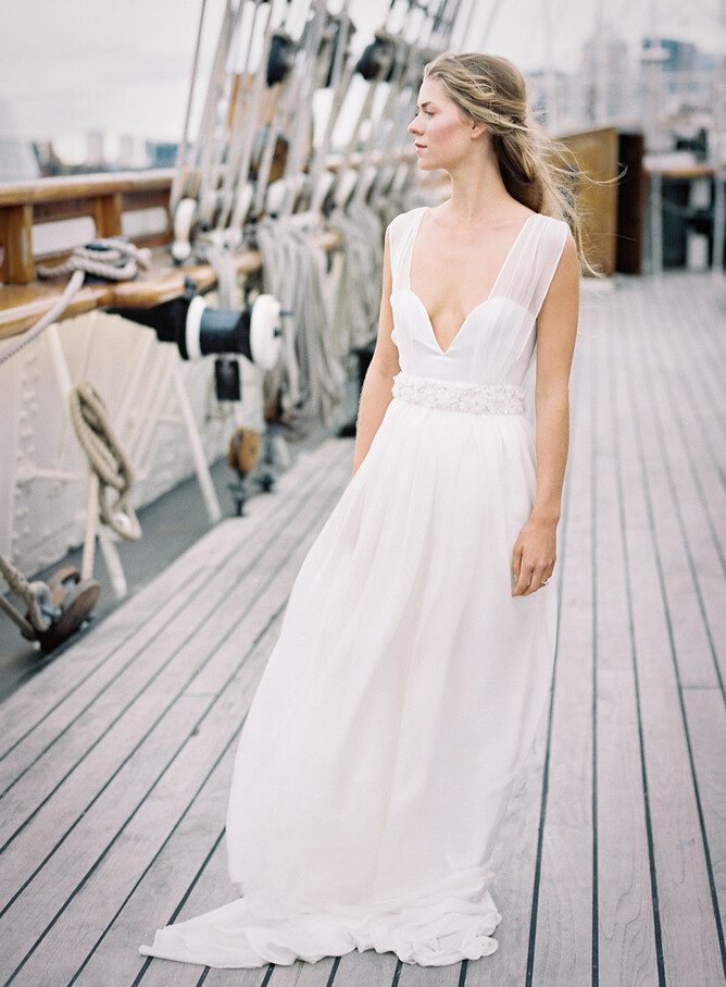 Understated Bride Boho Chic