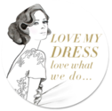 featured in bridal dress magazine: Love