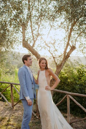 bespoke bridalwear for wedding in Italy www.kateedmondsonbridal.co.uk